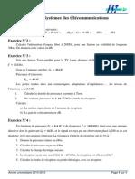 TD N_2 Systèmes Des Télécommunications