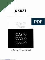 Kawai Digital Piano Ca440