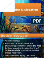 Shoulder Dislocation Draft