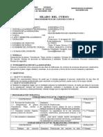 Silabo Procedimientos de Const. II Agosto 2015-II