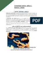 Astos Enfermedad Astos Altos
