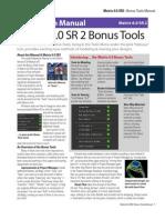 Gemvision's Matrix v6.0 Bonus Tools User's Guide & Manual