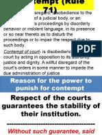 Contempt (Rule 71)- REPORT.ppt