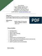 Jobswire.com Resume of lynnpt3