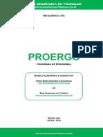 Modelo de PROERGO - Blog Segurança Do Trabalho