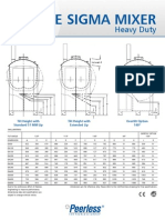 Double Sigma Mixer Heavy Duty