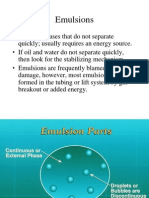 Emulsions Nugget