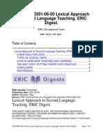 Lexical Approach to SLT
