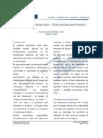 Instalaciones Electricas - Criterios de Planificacion
