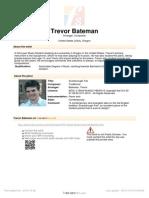 music sheet Bateman Trevor Scarborough Fair 26015