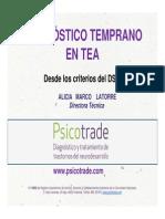 Diagnostico Temprano TEA