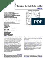 data sheet AD8232