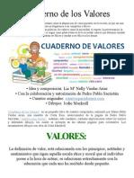 Cuaderno de Los Valores
