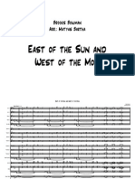 East of the Sun Big Band Score