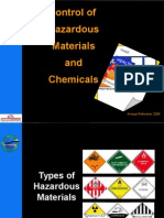 Hazardous Materials and Related Safety Issues