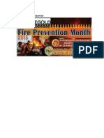 March Fire Prevention Month Tarp