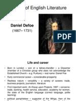 7. Daniel Defoe