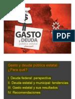 Gasto y Deuda Pública en Las Entidades Federativas Mexico Evalua Jul2013 Vf