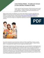agenzie matrimoniali incontri Ltd