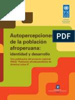 Pnud Pob Afro Peruana