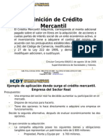 (657893592) Presentacion Credito Mercantil Icdt
