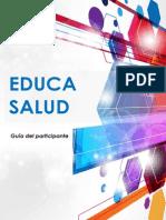 Guía Del Cursoeducasalud
