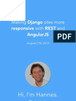 Django Rest Angular Guide