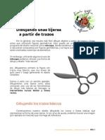 Inkscape Tijeras a Partir de Lineas