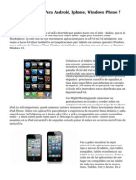 Bajar Aplicación Para Android, Iphone, Windows Phone Y ordenador