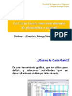 Ppt Carta Gantt