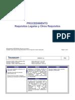 Procedimiento Requisitos Legales y Otros Requisitos V5.doc