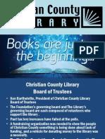 Christian County Library Foundation Presentation