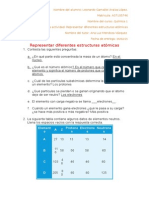 Modulo 3 act. 1 representar diferentes estructuras atómicas