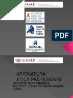 PPT Ética Profesional Unidad I