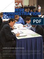 hs business administration core sample exam 1