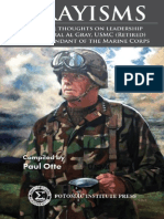 Grayisms - Selected Quotations of CMC Gen Gray