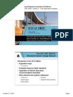 2013-10-17 Seaoc Ssdm Series Ppt Vol 1 Handout