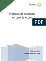 Protocolo de Actuacion en Caso de Acoso Laboral