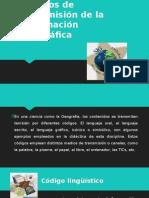 Códigos de Transmisión de La Información Geográfica Exposicion