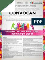 PREMIO MUNICIPAL DEL DEPORTE REYNOSA 2015