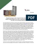 Disputed Passage in the Gospel of John