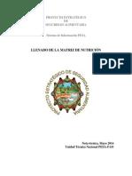 Nota Técnica, Llenado Matriz Nutrición OK, Mayo 2014
