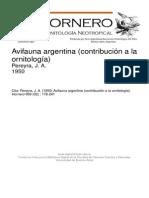 Avifauna Argentina
