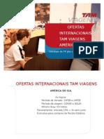 Ofertas Internacionais Tam Viagens America Do Sul 15feb