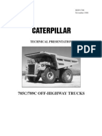 Technical Presentation CAT 789c-785c 124045423-Manual