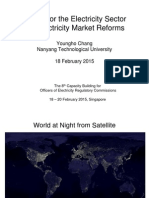 Yungho Chang - Models of Electricity Market and Reforms