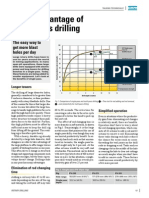 Taking Advantage of Single Pass Drilling