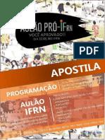 Aulão - Apostila PróIFRN
