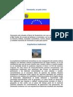 Venezuela Un Pais Unico