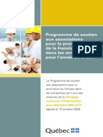 Programme Associations